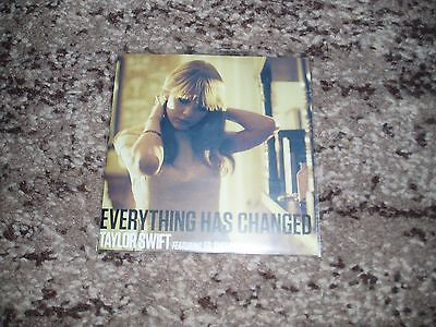 Taylor swift rare cd single promo france  everything has changed feat ed sheeran