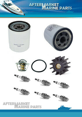 Volvo Penta 4.3GXI-J Service kit for freshwater cooling system with sparkplugs
