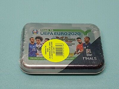 Panini Road to Uefa Euro 2020 Adrenalyn XL Mini Tin Box 1 x Limited Edition Neu
