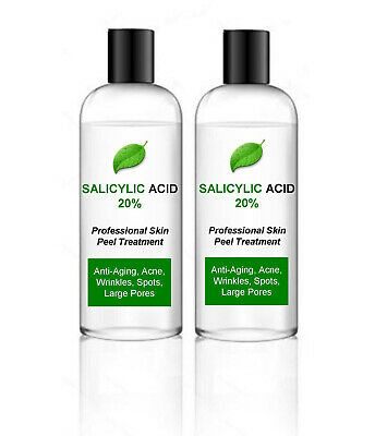 Salicylic Acid Skin Peel BHA 20% - Acne Treatment – 200ml bumper pack