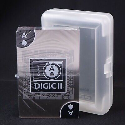 Canon Digic II Promotional Deck of Clear Plastic Playing Cards #42926