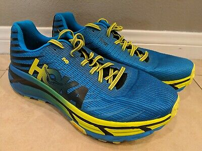 release date: 54fe9 48327 MEN'S HOKA ONE One EVO Mafate Running Shoes size 12 D Width - worn once