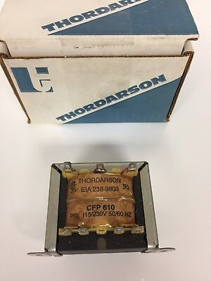 CFP-610 Thordarson Transformer Dual Primary 115/230 VAC