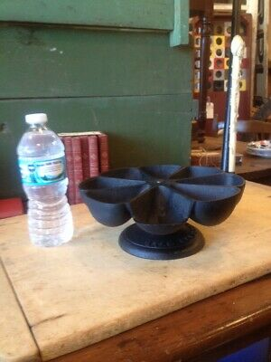 Antique Cast Iron STAR NAIL CUP Carousel Nail Bin Hardware Jewelry Watch Makers