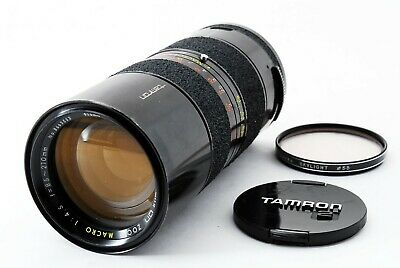[EXC+] Tamron 85-210mm f/4.5 BBAR Macro Zoom Lens for Canon FD from Japan #T1158