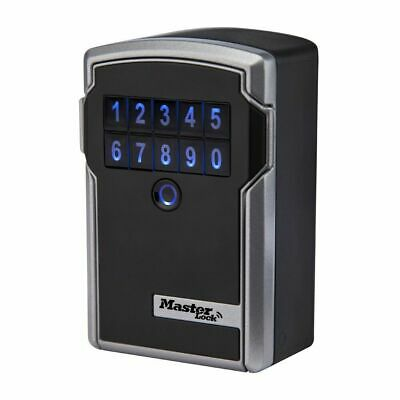 Master Lock 5441D 3-1/4-inch Wide Bluetooth  Electronic Wall Mount Lock Box