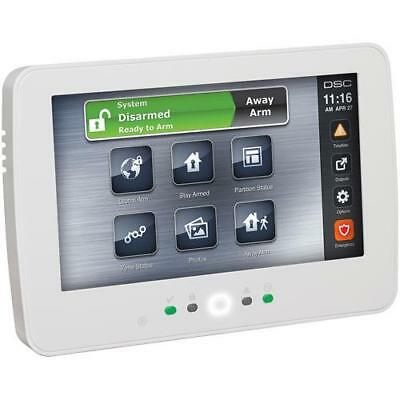 DSC HS2TCHP 7 inch TouchScreen Alarm Keypad with Prox Support