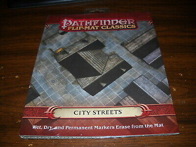 Paizo GameMastery Flip-Mat Ancient Dungeon OOP New in Pack Pathfinder D/&D