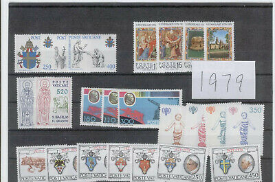 (FY79) Vatican Full yearset MNH 1979 ** FREE POSTAGE **