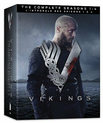 Vikings The Complete Seasons 1 2 3 4 [DVD Box Set TV Series History Channel] NEW