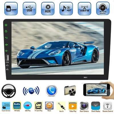 1 DIN Single 9'' HD Touch Screen Car Stereo MP5 Player Bluetooth FM Radio AUX-IN