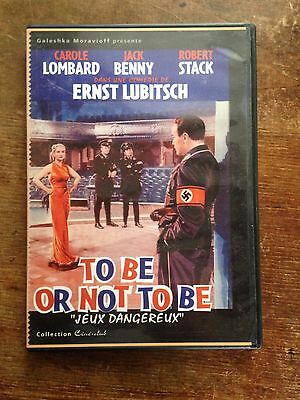 to be or not to be DVD film de ernst lubitsch avec carole lombard robert stack