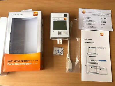 Testo Saveris 2 H1 WiFi Data Logger Temperature & Humidity, 10000