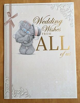 Large Wedding Card From All Of Us Good Luck