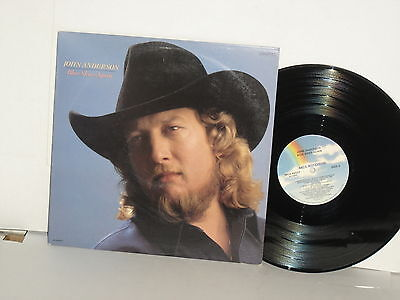 JOHN ANDERSON Blue Skies Again LP Somewhere Between Ragged And Right Waylon duet