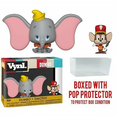 Funko Vynl Disney DUMBO- Dumbo + Timothy Vinyl Collectible Toy with protector