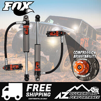 "Fox Race Series 2.5 Front Resi Shocks for 18-20 Jeep Wrangler JL  3.5 - 4"" Lift"