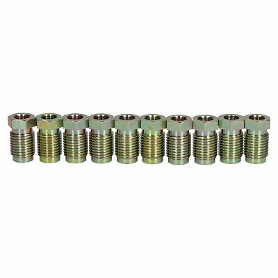 Steel Male Brake Pipe Union Fittings 14mm x 1.5mm For 8mm Brake Pipe 10pc
