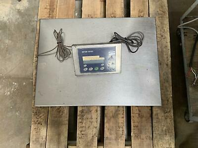 Mettler Toledo Stainless Steel Scale W/ IND429 Indicator Readout 62032133 0805