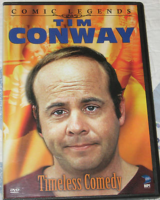 Tim Conway Comic Legends Timeless Comedy DVD