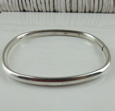Precious Metal Without Stones Jewelry & Watches Objective Sterling Silver Israel Bangle Bracelet 24 Grams