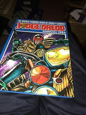 Judge Dread Annual. 1984. Hardback book.