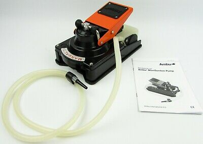 NEW Ambu Maxi Suction Pump Manual Medical/Industrial Use Vacuum w/Instructions