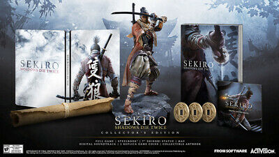 Sekiro: Shadows Die Twice Collectors Edition [Sony PlayStation 4 PS4 Action] NEW