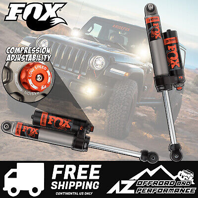 "Fox Race Series 2.5 Rear Resi Shocks for 18-19 Jeep Wrangler JL 0-1.5"" Lift"