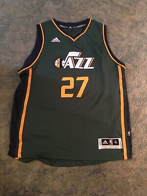 huge selection of 7f2cc 251ca UTAH JAZZ #27 Rudy Gobert *CITY* Nike Swingman Jersey Size L ...