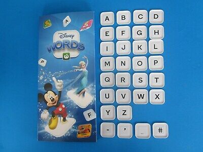 Woolworths Disney Words CHOOSE PICK A Letter Symbol Tile * FREE POST * UPDATED