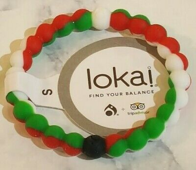 Lokai Authentic R/W/G Size SMALL - TripAdvisor Int'l Rescue Comm