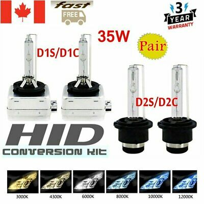 2Pcs  35W D1S/D1C D2S/D2C Xenon Car Replacement HID White Headlight Lamps Bulbs