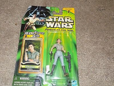 Star Wars Power of the Jedi Leia Organa Action Figure