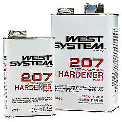 West Systems 207 Special Clear Hardener .66 Pint 207-SA