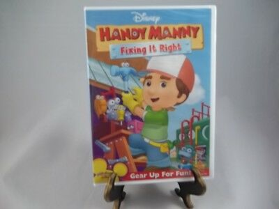 Handy Manny: Fixing It Right (DVD, 2008) - Brand New/Sealed