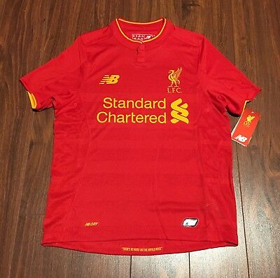 reputable site bc4c1 f8a23 LIVERPOOL LFC NEW Balance Football Soccer Youth Jersey New With Tags