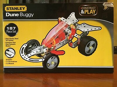 Stanley Construct & Play: Dune Buggy - 187 Piece Set
