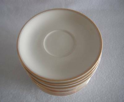 Mikasa Ivory China Saucer L2801 Trousdale Japan Excellent Cond Multiples Availab