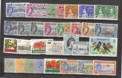 9890- Bahamas , British Colonies, collection of stamps