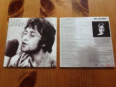 John Lennon The Mail On Sunday 12 Track Promo Cd Free Uk Postage Uk The Beatles