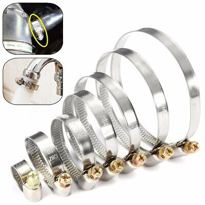 Stainless Steel Hose Clips Pipe Clamps - Choose Size - Jubilee Jcs Type UK *