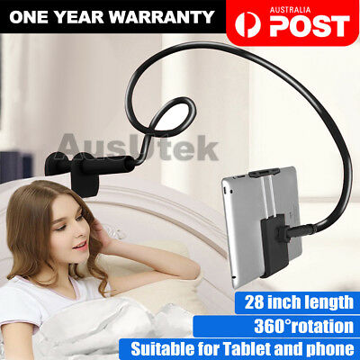 360°Rotating Tablet Stand Holder Lazy Bed Desk Mount iPad Air iPhone Samsung NEW