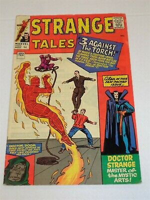 Strange Tales #122 Marvel Comics Dr Doom July 1964 Fn- (5.5)**