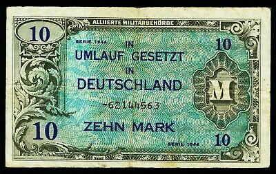 DEUTSCHLAND. GERMANY. 10 Mark 1944. Ro. 203d.