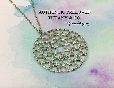 127e745ac Mint Authentic Tiffany & Co. Paloma Picasso Crown Of Hearts Medallion  Necklace