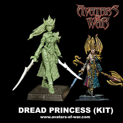 Avatars Of War Princesa Elfa Oscura Ki / Dark Princess Elf  Dread  Aow Official