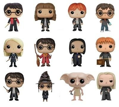 Harry Potter Action Figure Funko Pop Bacchetta Sambuco Hermione Ron Voldemort