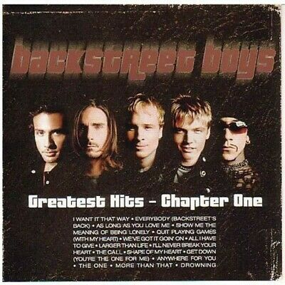 Backstreet Boys - Greatest Hits: Chapter One CD NEW