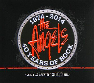 The Angels - 40 Years Of Rock, Vol. 1: 40 Greatest Studio Hits (3 Disc) CD NEW